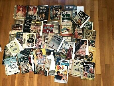 Vintage Distressed Book Jackets Covers Lot 30's 40's 50's mixed media supply