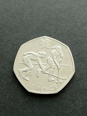 CIRCULATED LONDON 50p Olympic coin 2012 FREE P&P choose coin