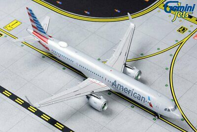 American Airlines Airbus A321neo N400AN Gemini Jets GJAAL1850 Scale 1:400