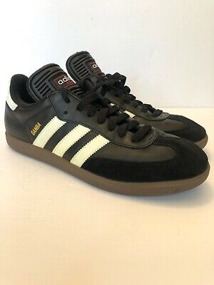 ADIDAS SAMBA CLASSIC Black Athletic Lifestyle Casual Shoes 034563 Men's 11.5