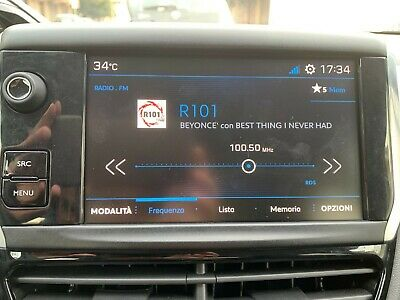 PEUGEOT 208 2017 Genuine Rcc A2 System With Car Play Android