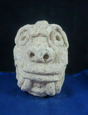 Peruvian Pre Columbian Chavin Style culture - Clava heads - carved in stone