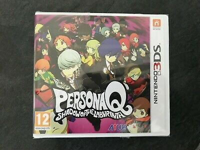 Persona Q Shadow of the Labyrinth - Nintendo 3DS/2DS - Sealed UK Edition, RARE!