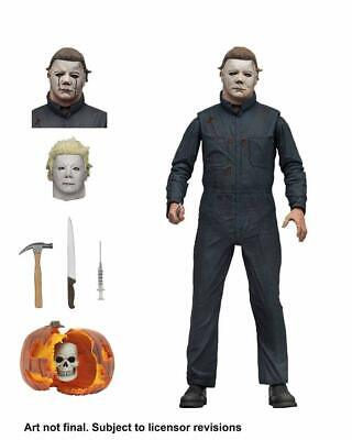 NECA 1981 Halloween 2: Ultimate Michael Myers 7 Inch Action Figure Doll for Kids