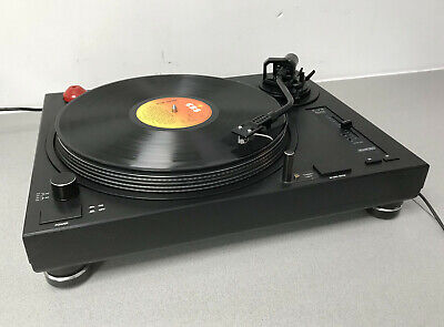 Soundlab DL-P1R Turntable DJ DECK Vinyl Record player with Cartridge and Stylus
