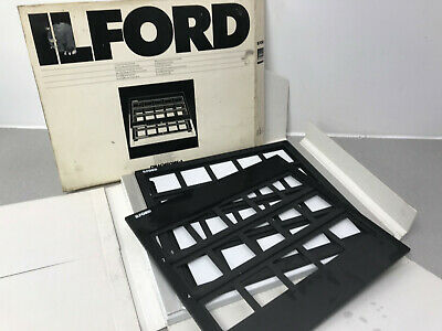lford CIBACHROME-A Contact Printing Frame for Mounted Transparencies Boxed