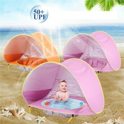 Baby Beach Tent UV Protecting Sunshelter+Mini Water Pool Children Game Place