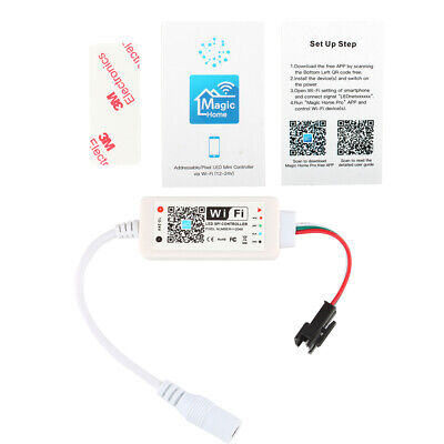 WiFi Controller for WS2811 Addressable/Pixel LED Strip Lights iOS/Andriod APP