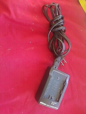 Genuine Original OEM Nikon MH-18a Quick Charger for EN-EL3a EN-EL3e Battery USED