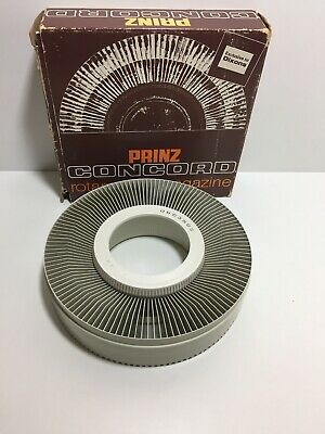 PRINZ CONCORD ROTARY SLIDE MAGAZINE  BY DIXONS 120 Capacity Boxed