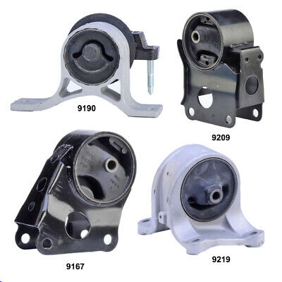 Engine Motor & Transmission Mount Set 4PCS for Nissan Altima 2002-2006 2.5L