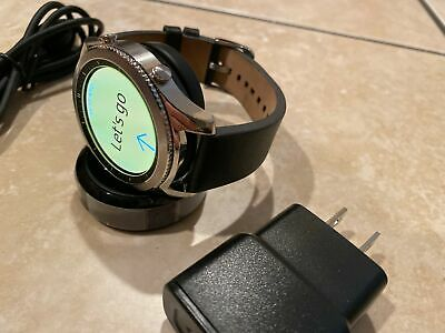 Samsung Galaxy Gear S3 classic 46mm Stainless Steel Large Band SM-R770 #NBOP