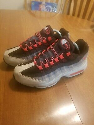 best deals on 51bc2 ebe2f NIKE AIR MAX 95 OG 2018 Solar Red Neutral Grey White Pink ...