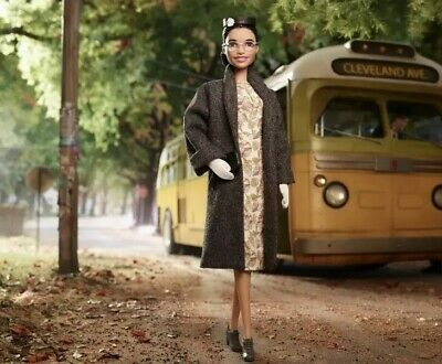 Rosa Parks Barbie Doll Inspiring Women Collection 2019 IN HAND READY TO SHIP!!!