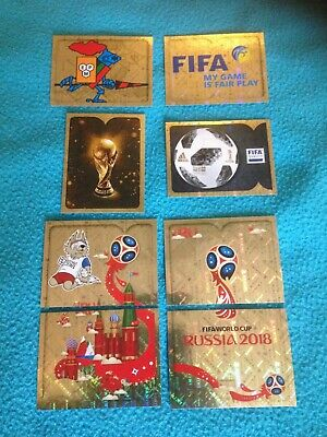 au choix sur 50 stickers brillante world cup 2018 russia foot panini