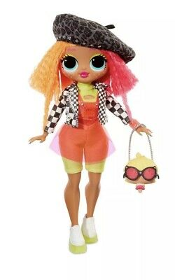 """LOL SURPRISE! OMG 11"""" Fashion Doll *NEONLICIOUS*  Series 1 IN HAND Brand NEW"""