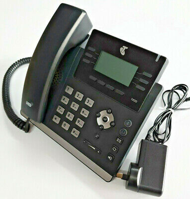 Yealink Telstra T42G IP Phone HD Voice, w power adapter, 1year w/ty. Tax invoice