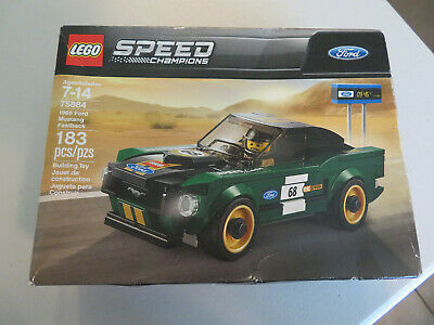 2018 Retiring Soon LEGO 75884 SPEED CHAMPIONS 1968 Ford Mustang Fastback HTF