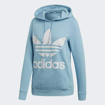 NEW ADIDAS ORIGINALS Women's Trefoil Hoodie ~Size Xs #Bp9486