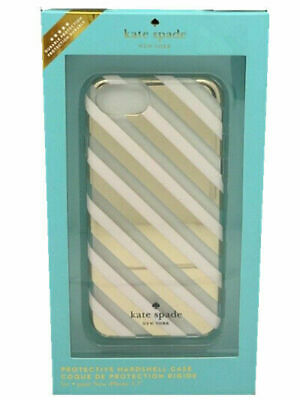 Kate Spade New York Protective Case iPhone 6 / 6s / 7 / 8 Cream Pink Stripe