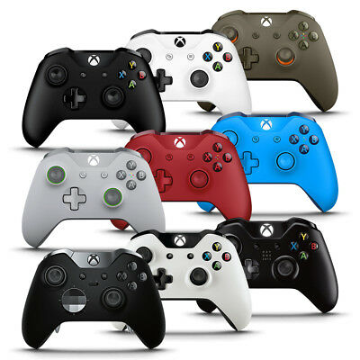 WIRELESS CONTROLLERS FOR MICROSOFT XBOX ONE BLACK OR WHITE CONTROLLER Windows 10