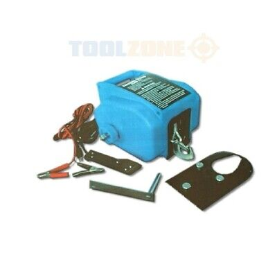 TOOLZONE 12V ELECTRIC BOAT WINCH Up To 6000Lbs cable puller