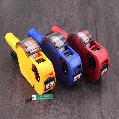 8 Digits Price Tag Gun Labeler Retail Tool For Home / Office MX-5500 EOS NEW