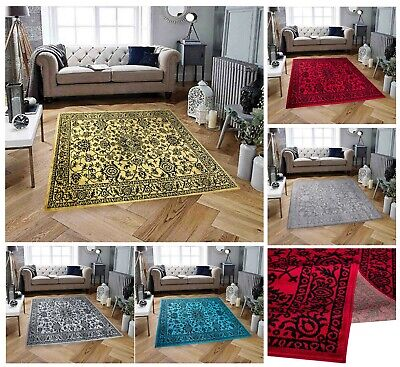Hall Area Rug Classic Floral Small Medium Large Carpet Runner For Living Room
