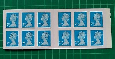 FORGERY 2012 12 x 2nd class stamp booklet MTIL M12L Machin FAKE