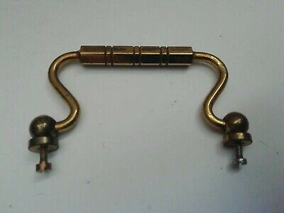 reclaimed vintage Brass Carriage Clock Handle. 6.1CMS WIDE spares /repairs 110