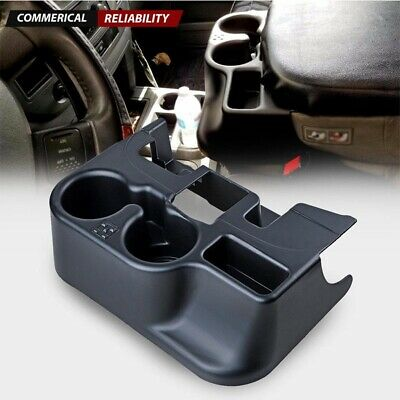 CENTER CONSOLE CUP HOLDER for 2003-12 DODGE RAM ADD-ON 1500//2500//3500 GRAY
