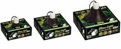 Exo-Terra Vivarium, Terrarium Clamp Lamp Glowlight & Reflectors