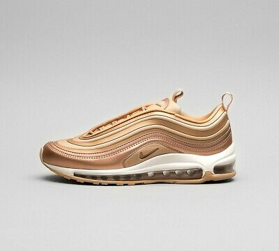 WOMENS NIKE AIR Max 97 Ultra Metallic Red Bronze Trainers
