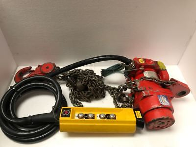 Fisher Offshore TCR 2000 Pneumatic Air Chain Hoist 2000 Kgs *Free Shipping* UU