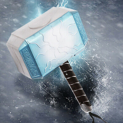 Marvel Avengers Alliance Series Thor Hammer LED Props Kids Toy Halloween Party