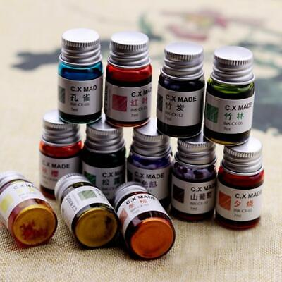 Color Ink Non-carbon For Fountain Dip Pen Calligraphy Writing-painting Graffiti-