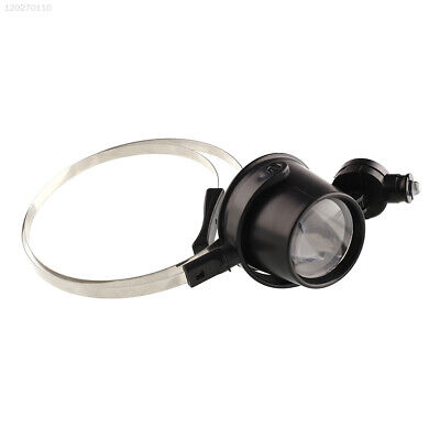 New Portable 15X Head Band Eye Led Magnifier Loupe Jewelers Circuit Watchmakers