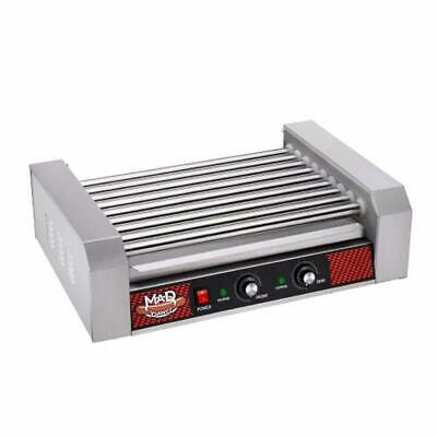 Great Northern Popcorn 4079 GNP Hotdog 9 Machine Hot Dog Rolling Grill, 9 Roller