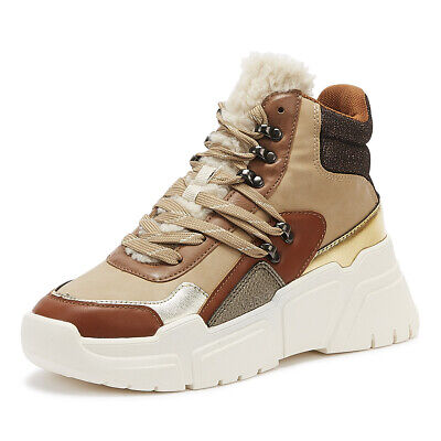 Victoria Totem Bota Womens Camel Tan Trainers Ladies Casual Shoes
