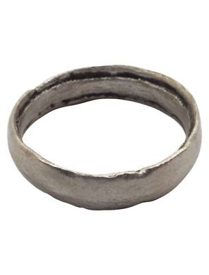 MEDIEVAL  VIKING WEDDING BAND C.900 AD  Size 10 1/4 (20.2mm).