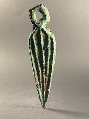 Rare Ancient Celtic Koban D@Gger Amulet Early Bronze Age Circa. 1200 Bc