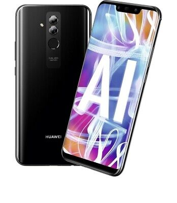 Huawei Mate 20 Lite 64GB Black Android Smartphone Unlocked NEW