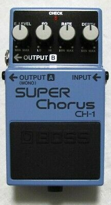 Used Boss CH-1 Super Chorus Pedal!