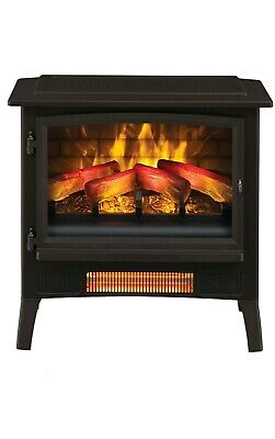 Groovy Duraflame Infrared Quartz Fireplace Stove 3D Flame Effect Download Free Architecture Designs Fluibritishbridgeorg