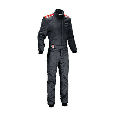 OMP SPORT Black Racing Suit (with FIA homologation) s. M
