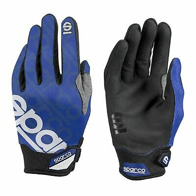 Sparco Mechanic Gloves MECA-3 blue s. 8