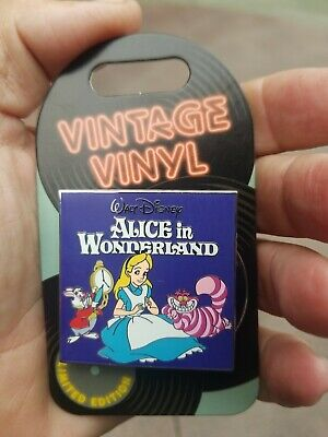 Disney Parks Pin of the Month Vintage Vinyl  Alice-in-Wonderland