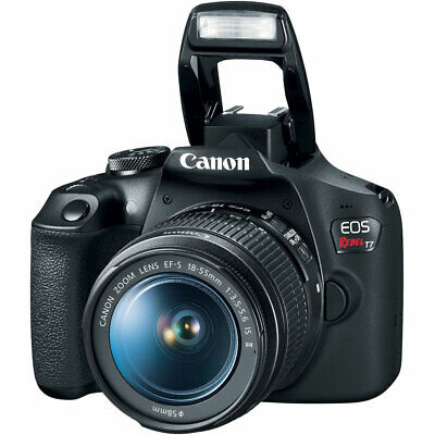 Canon EOS Rebel T7 24.1MP Digital SLR Camera with EF-S 18-55mm IS II Lens