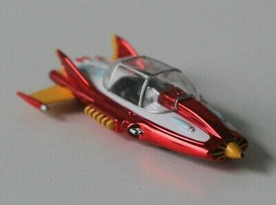 Johnny Lightning - Limited  Edition  Gerry Andersons - Supercar.  Metallic Red.