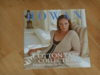 COTTON TAPE COLLECTION knitting book by Rowan - 15 designs by Kim Hargreaves
